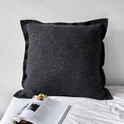 Moyha :: poduszka wełniana eminencja antracytowa