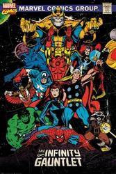 Marvel Retro The Infinity Gauntlet - plakat
