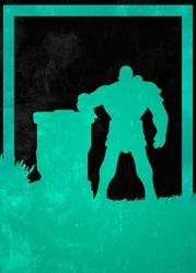 League of legends - braum - plakat wymiar do wyboru: 70x100 cm