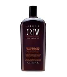 American crew men power cleanser style remover oczyszczający szampon do włosów 1000ml