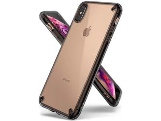 Etui ringke fusion apple iphone xs max smoke black - czarny