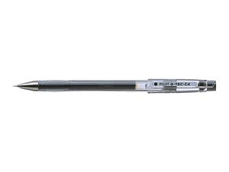 Długopis żelowy pilot g-tec-c 4 hi-tecpoint - czarny