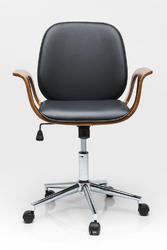KARE Design :: Krzesło biurowe Patron Walnut - z podłokietnikami || Walnut