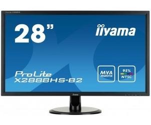 IIYAMA 28 X2888HS-B2 MVA,FLICKERFREE,SPEAKERS                 1920X1080,178178