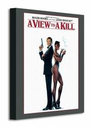 James Bond A View To A Kill - Obraz na płótnie