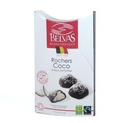 Belvas   roches coco czekoladki nadziewane kokosem   organic - fair trade