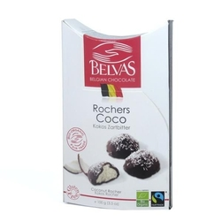 Belvas | roches coco czekoladki nadziewane kokosem | organic - fair trade