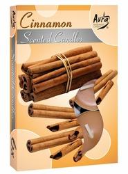 Bispol, Cinnamon, podgrzewacze zapachowe, 6 sztuk