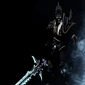 Blizzardverse stencils - arthas, the lich king, warcraft - plakat wymiar do wyboru: 70x100 cm