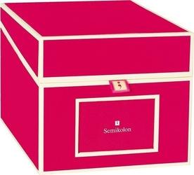Pudełko na zdjęcia i płyty cd die kante różowe
