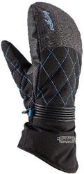 Rękawice viking karen mitten ski lady czarno-niebieskie
