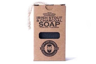 Dr k soap irish stout  charcoal soap - naturalne mydło do ciała