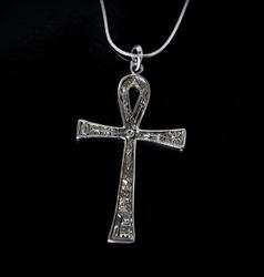 Duży krzyż ankh - naszyjnik