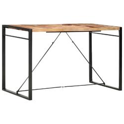 Vidaxl stolik barowy, 180x90x110 cm, lite drewno sheesham