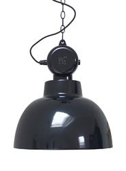 HK Living :: Lampa wisząca FACTORY M Ø40cm czarna - czarny