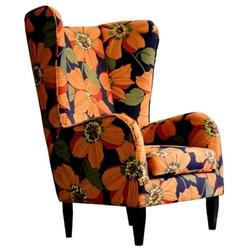 Fotel bel ami w kwiaty