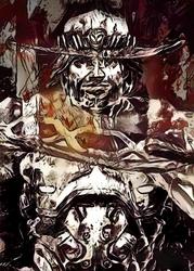 Legends of bedlam - mccree, overwatch - plakat wymiar do wyboru: 29,7x42 cm