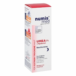 Numis med Urea 5 Nachtcreme+hyaluron