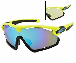 Okulary przeciwsłoneczne goggle viper e595-2 yellowblack