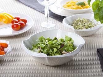 Salaterka  miseczka ścięty kwadrat porcelana altom design regular 20 cm
