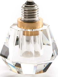 Żarówka LED Crystaled Spot transparentna
