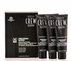 American crew precision blend odsiwiacz repigmentacja kolor ciemny 2-3 3x40ml