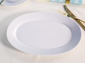 Półmisek owalny porcelana mariapaula biała 33 cm