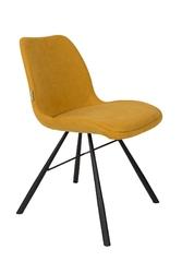 Zuiver krzesło brent musztardowe 1100319