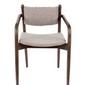 Dutchbone :: fotel tapicerowany torrance brązowe