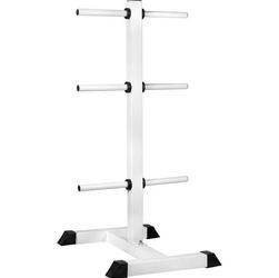 Stojak na obciążenia biały 117 cm
