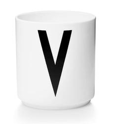 Kubek porcelanowy AJ litera V