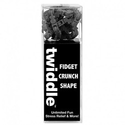 Fidget twiddle black