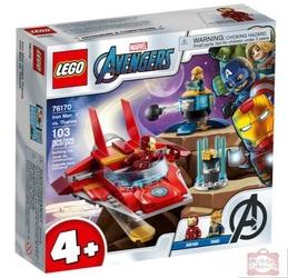 Lego 76170 avengers iron man kontra thanos