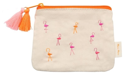 Meri Meri Kosmetyczka Flamingi