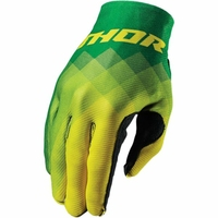 THOR RĘKAWICE INVERT PIX S7 OFFROAD GREENYELLOW