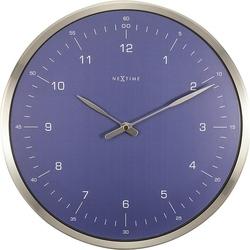 Zegar ścienny 60 Minutes niebieski