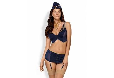 816-CST-6 kostium Obsessive stewardessa