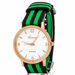 Zegarek mięciutki zielony - zielony