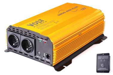 PRZETWORNICA SINUS PLUS 4000 12V  230V 20004000W - Szybka dostawa lub możliwość odbioru w 39 miastach