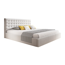 Łóżko z pojemnikiem nero 160x200 ze stelażem