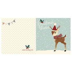 Kartka świąteczna bambi maileg
