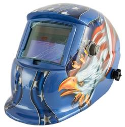 Maska spawalnicza przyłbica samościemniająca blue 2 filtry geko