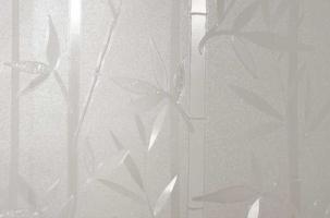 Statyczna folia okienna 45x150 bambus