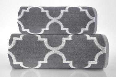 Ręcznik greno decor popielaty - popielaty