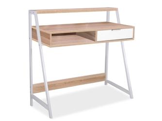 Biurko z półką i szufladą Olivia 50x100 dąb