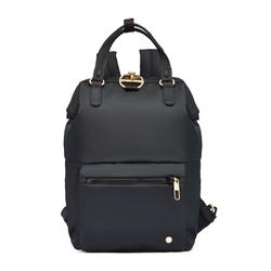 Mini plecak damski pacsafe citysafe cx czarny - czarny