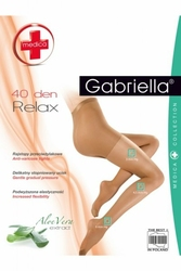 Gabriella relax medica 40 den beżowy rajstopy