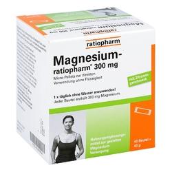 Magnesium ratiopharm 300 mg micro pell.m.granulat