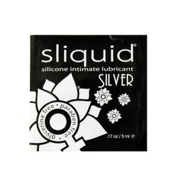Silikonowy środek nawilżający - sliquid naturals silver lubricant 5 ml saszetka