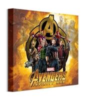 Avengers: infinity war postacie - obraz na płótnie